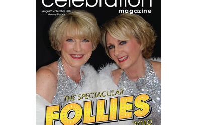 Spectacular Follies Ladies On the Cover of Celebration Magazine