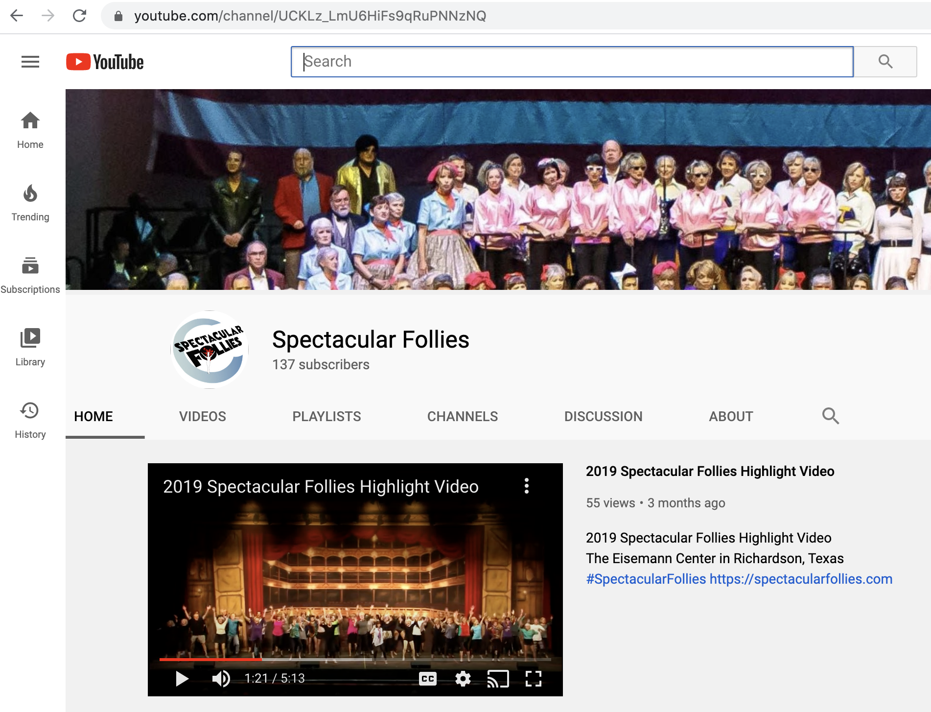 Spectacular-Follies-YouTube