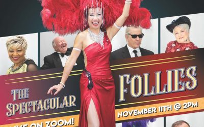 On the Cover of Celebration Magazine – The Spectacular Follies: Live on ZOOM